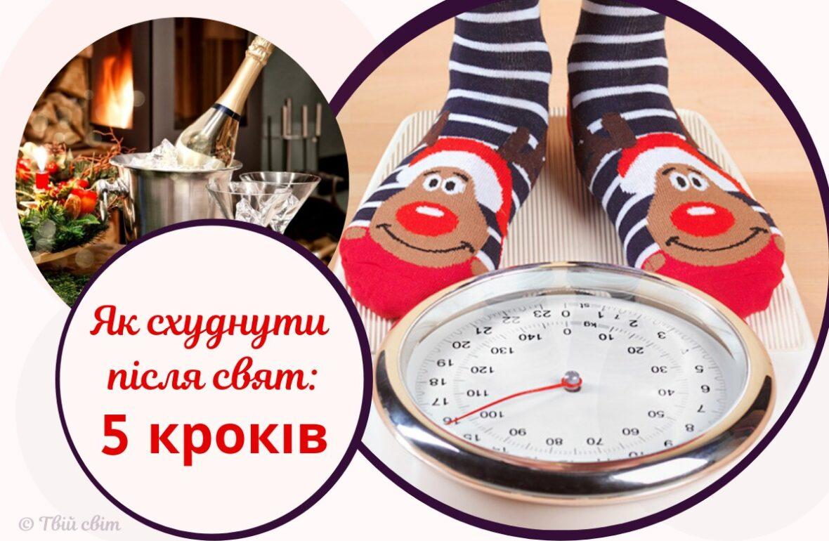 Як схуднути після зимових свят