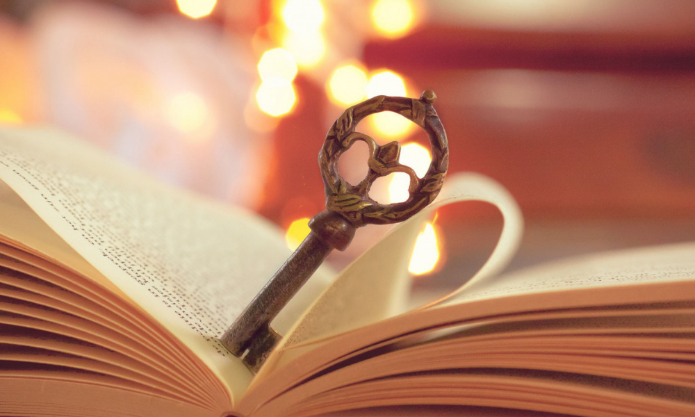ключ, книга