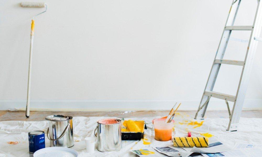 ремонт, фарби, стіна
