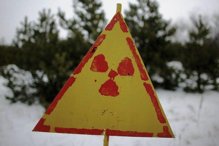 раціаційне зараження, знак, Чорнобиль