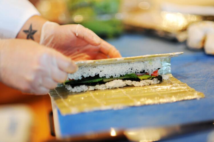 як готувати суші