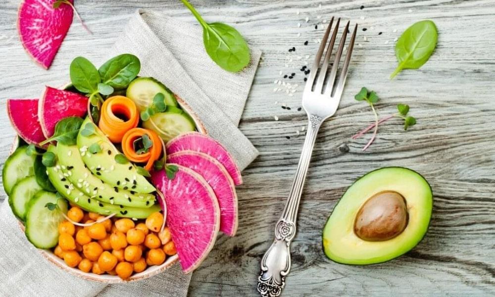 кольорова їжа