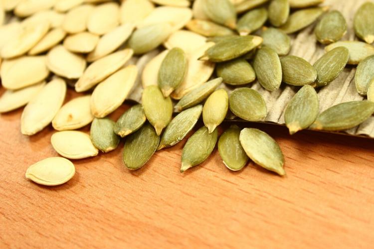 антистресові продукти, гарбузове насіння, диньки