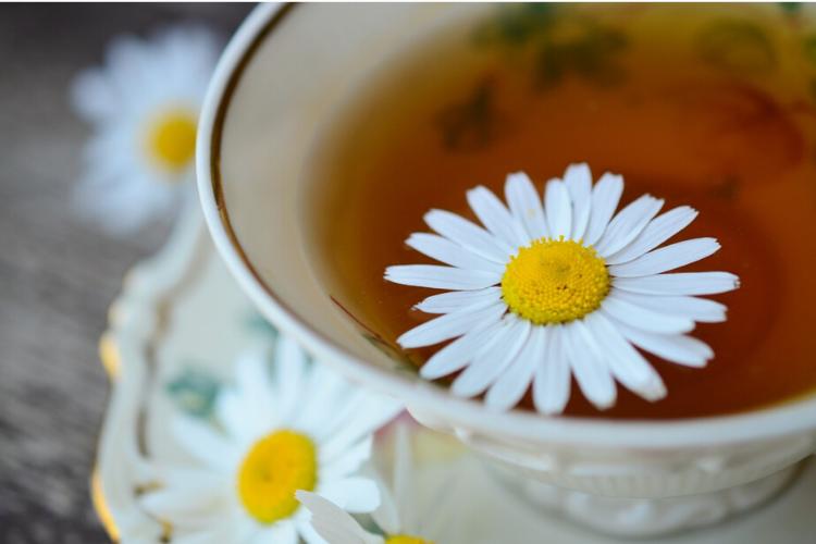 ромашковий чай, ромашка, антистресові продукти