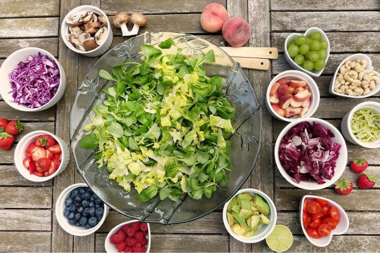 зелень, овочі