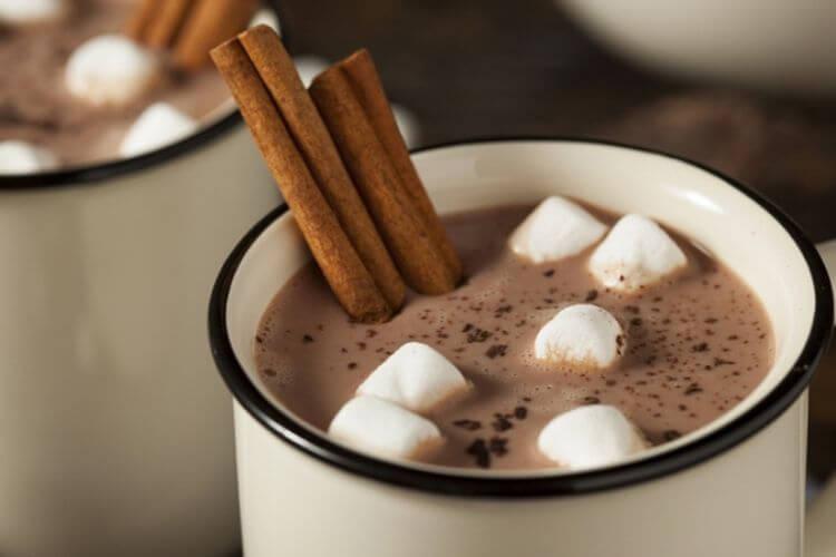 шоколадний глінтвейн