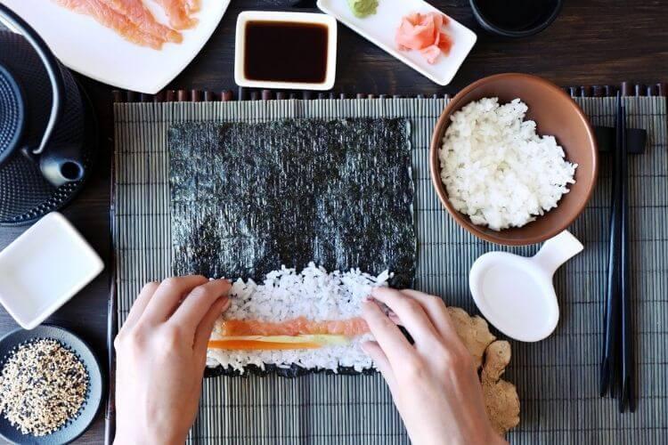 приготування суші