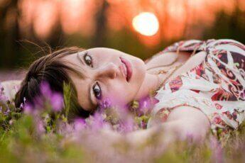 дівчина, весна, народжені навесні